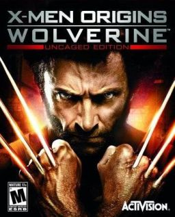 X-Men Origins: Wolverine game cover
