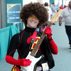 guitar superhero cosplay by Kevin Dooley
