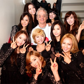 bill murray and girls generation