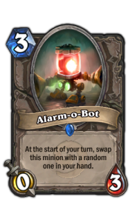 hearthstone alarm o bot