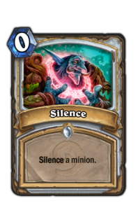 hearthstone silence