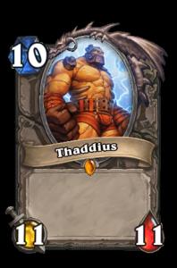 hearthstone thaddius