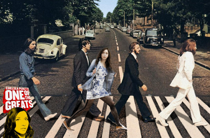 chelsea peretti one of the greats with the beatles