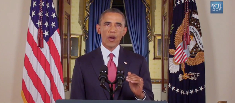 president obama ISIL address