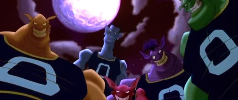 space jam monstars team